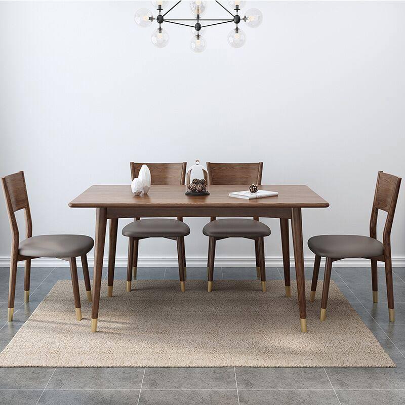 bàn ăn gỗ cao su cao cấp
