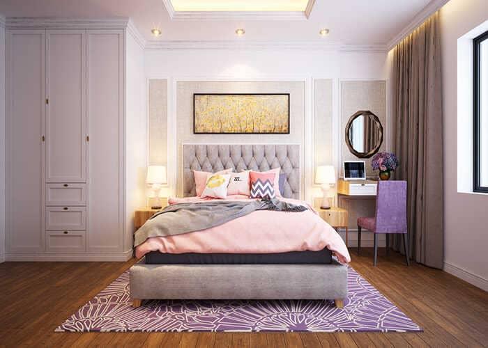 Đồ nội thất gia đình trong phòng ngủ