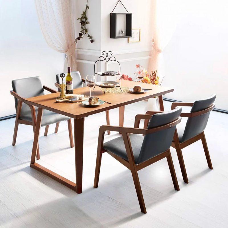 Bàn ghế gỗ HDF