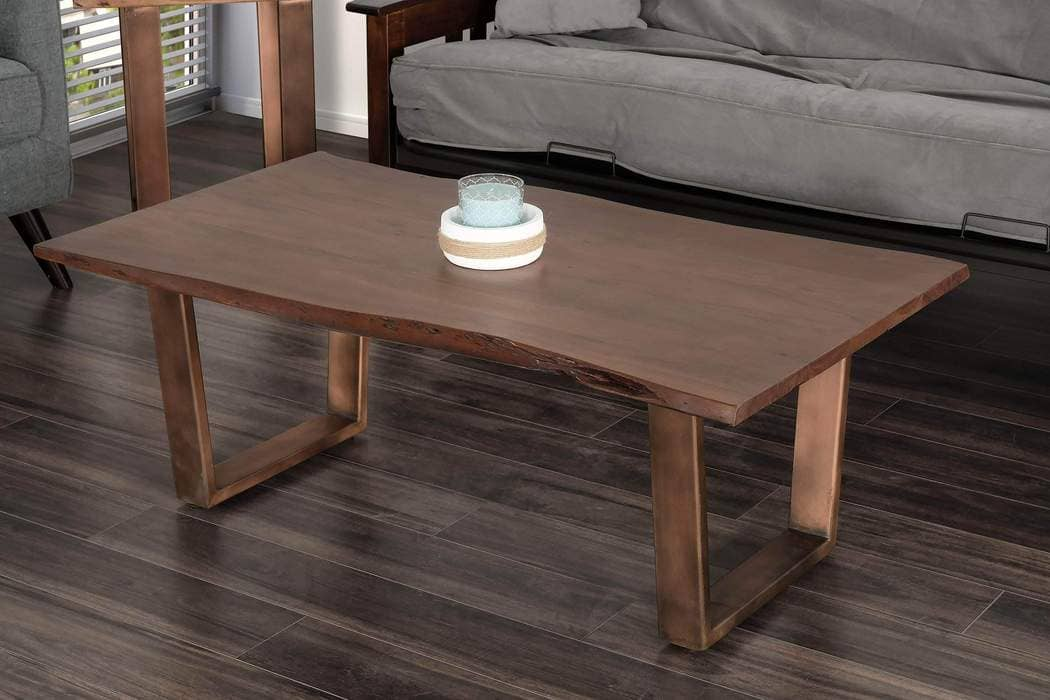 Bàn phòng khách bằng gỗ keo