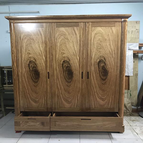 Các loại tủ gỗ hương xám