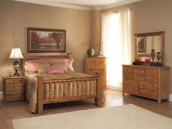 Hình ảnh nội thất phòng ngủ bằng gỗ