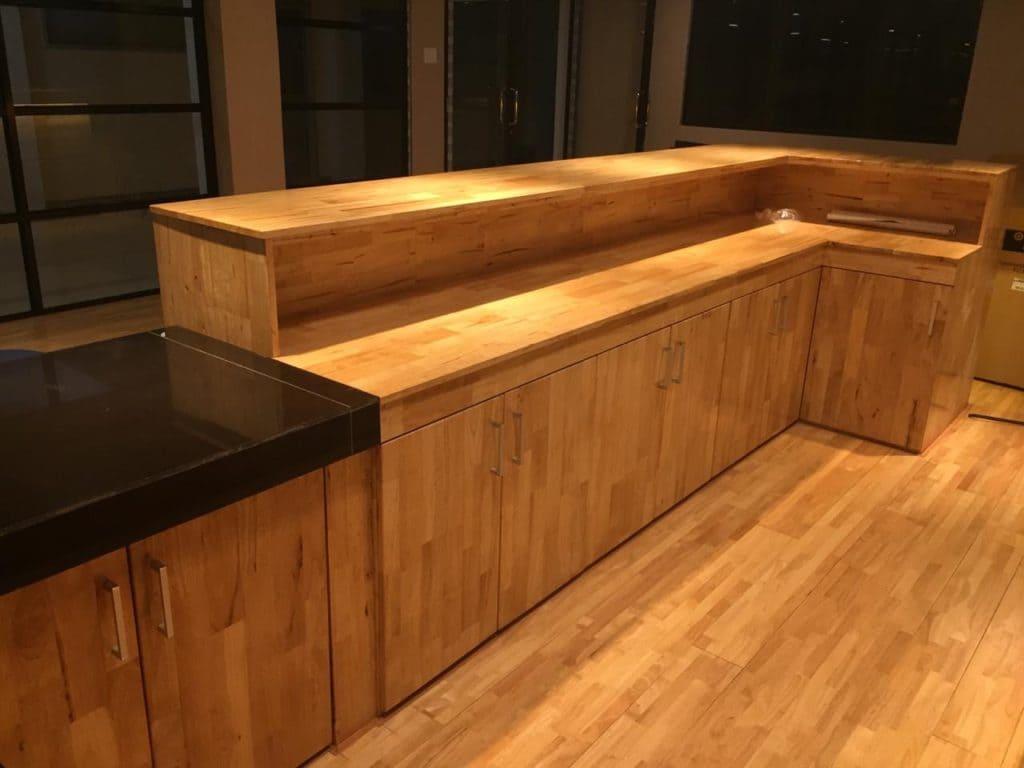 Nội thất gỗ cao su