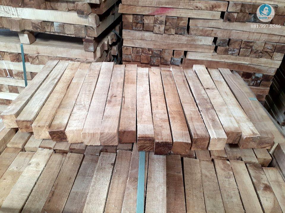Phôi gỗ cao su tẩm sấy là gì?