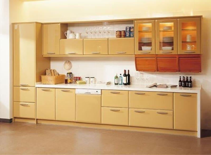 Tủ bếp nội thất mdf phủ veneer