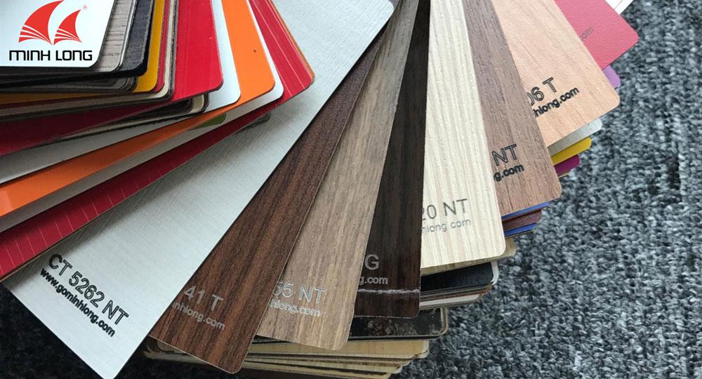 Ván ép công nghiệp gỗ minh long
