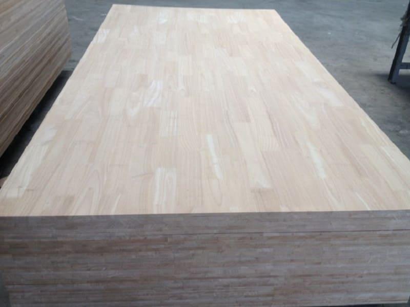 Ván gỗ cao su ghép
