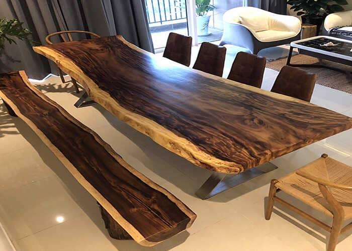 Đồ nội thất gỗ tự nhiên đắt hơn gỗ công nghiệp