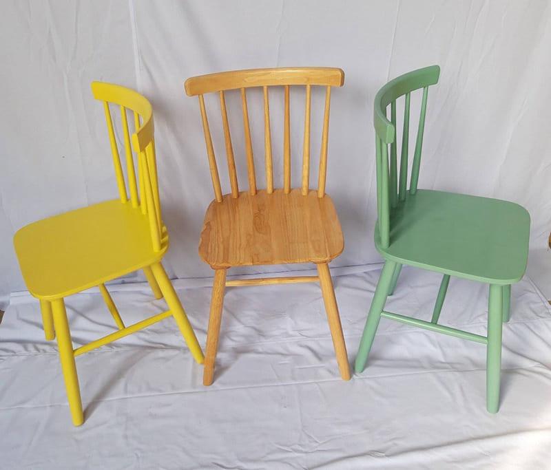 Bàn ghế cafe gỗ Pinnstol