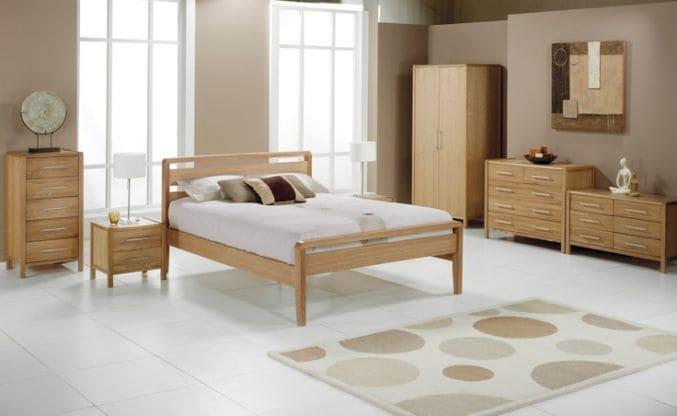 Giường tủ phòng ngủ gỗ tần bì