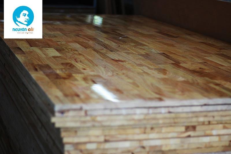gỗ ghép cao su tại bình dương 1