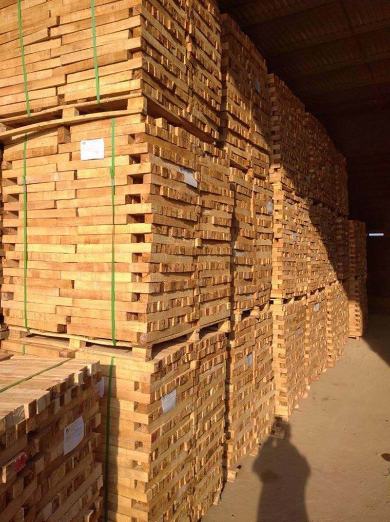 Quá trình sấy gỗ cao su