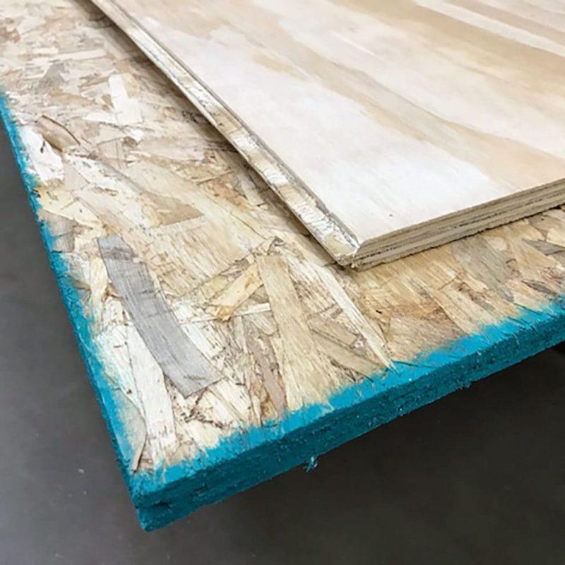 So sánh ván gỗ dăm(OSB) và Gỗ dán(Plywood)