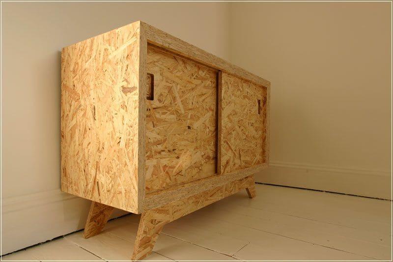 Tủ gỗ osb bắt mắt