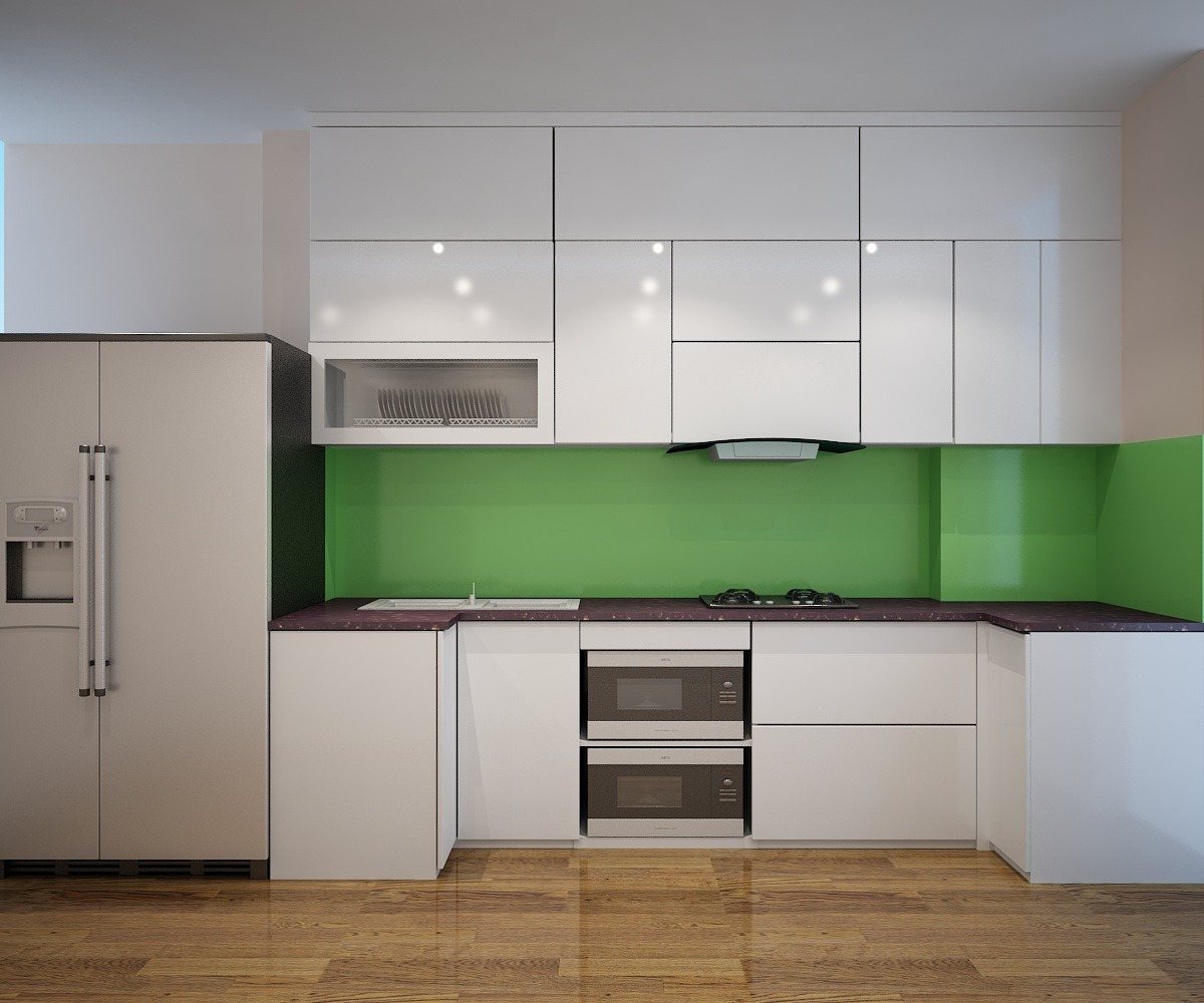 Tủ bếp nội thất gỗ Picomat An Cường