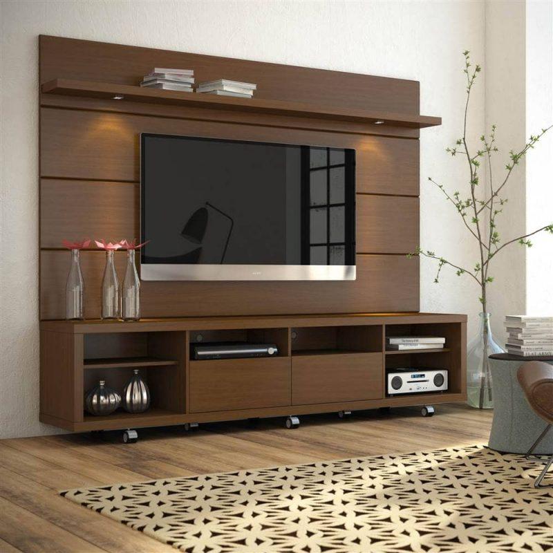 Tủ gỗ nội thất gỗ óc chó hiện đại