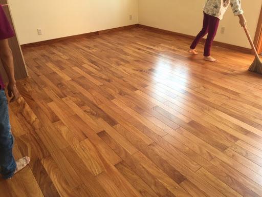 Sàn gỗ gõ đỏ cao cấp
